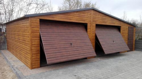 Garaże dwu i trzy stanowiskowe